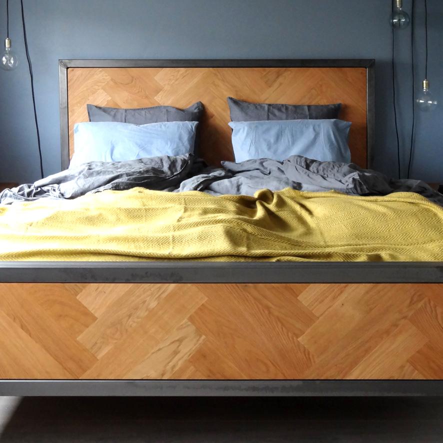 Zelfgemaakt bed