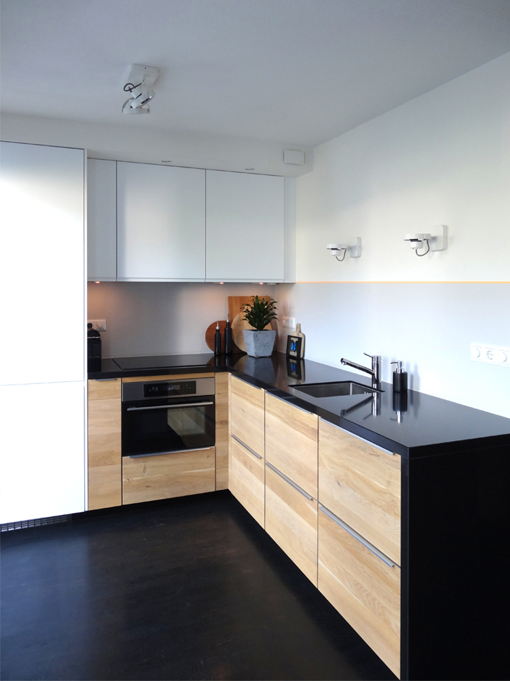 Zelf ontworpen keuken