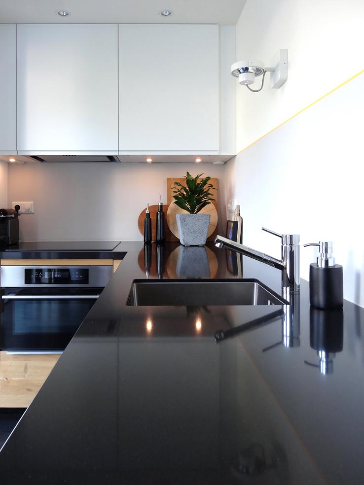 Zelf geplaatste keuken