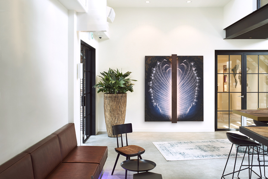 Wanddecoratie voor restaurants
