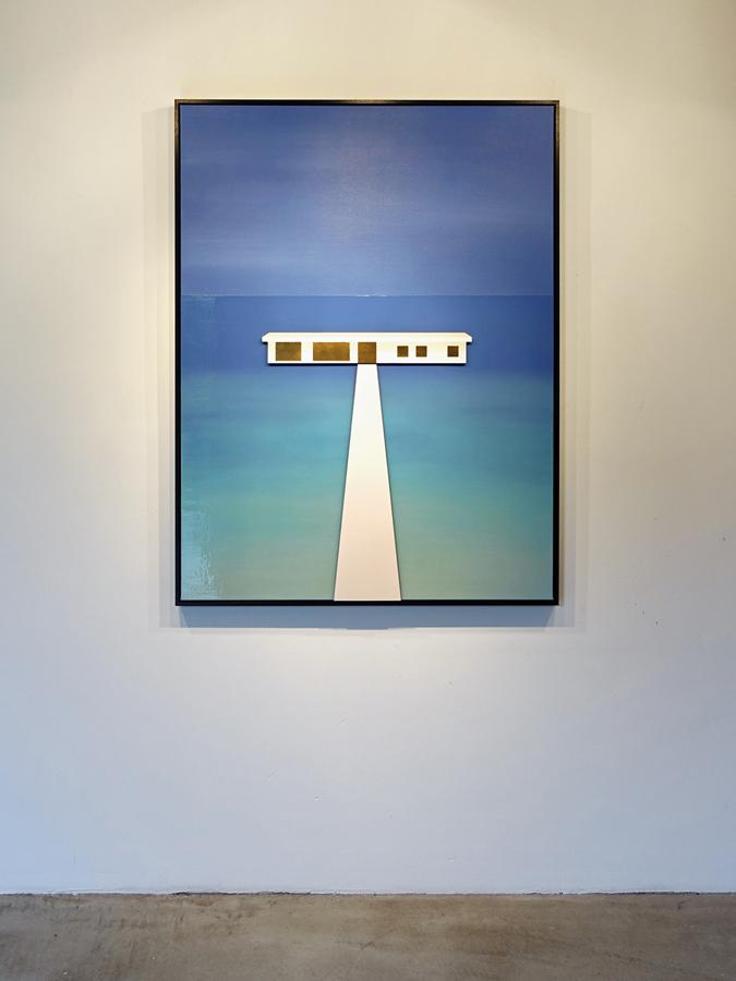 Eenvoudig schilderij Muraka