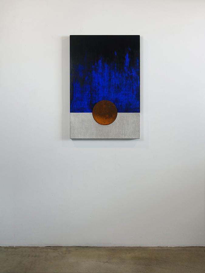 Wandobject Blauwe nacht 1