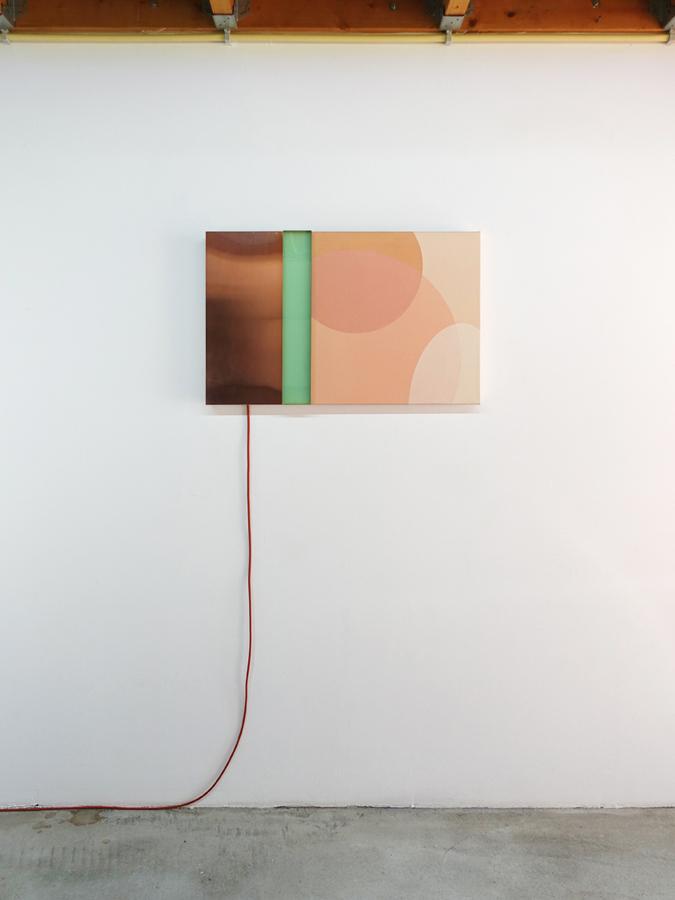 Lichtobject Nude met uitgeschakelde verlichting