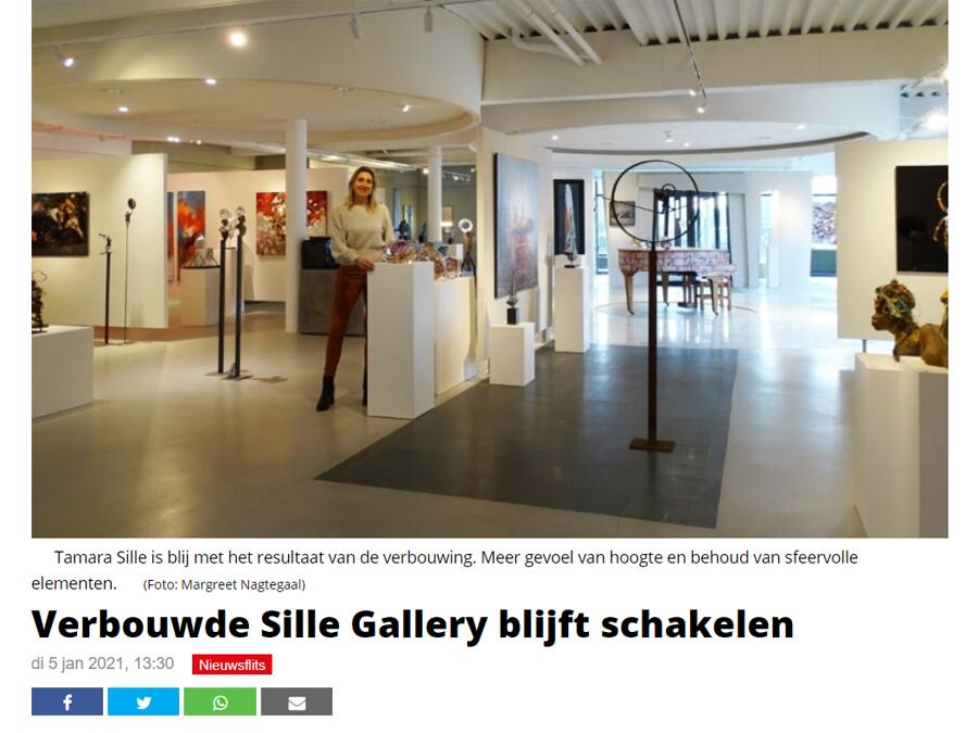 Sille Gallery verbouwd