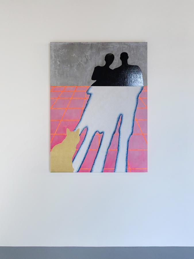 Schilderij Samensmelting