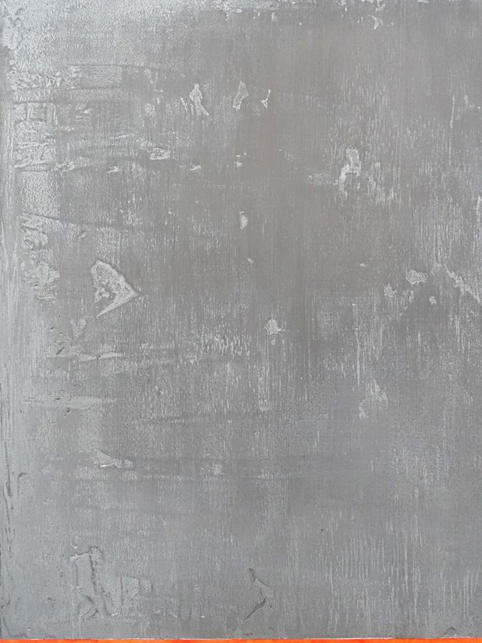 Grove pasta in schilderij Samensmelting