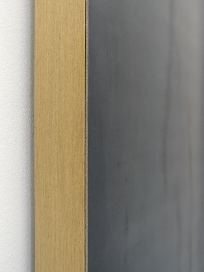 Wandobject met materialenmix
